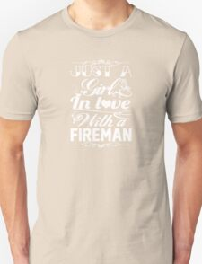 In love with a Fireman T-Shirt