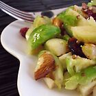 Warm Brussels Sprouts Salad by Kimberly Morales