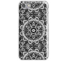 """""""Paradise Could Paralyse"""" Sacred Geometry Mandala iPhone Case/Skin"""