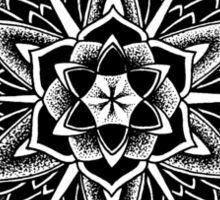 """Paradise Could Paralyse"" Sacred Geometry Mandala Sticker"