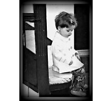 contemplating Photographic Print