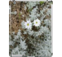 White Flower Morning iPad Case/Skin