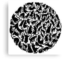 Fur-ball Canvas Print