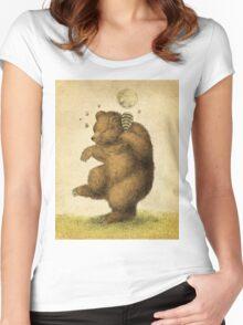 Honey Bear Women's Fitted Scoop T-Shirt