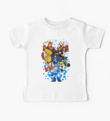 Megaman 2 - The Mystery of Dr. Wily Baby Tee