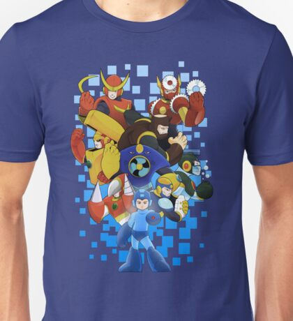 Megaman 2 - The Mystery of Dr. Wily Unisex T-Shirt