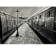 Catching The Train Photographic Print