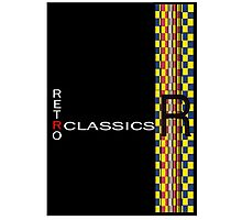 Retro Classics Photographic Print