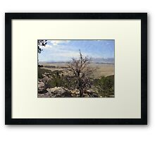 Rocky Mountain View Framed Print