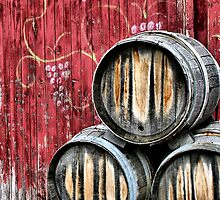 Wine Barrels by Doug Hockman
