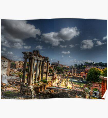 Roman Acheological Dig Poster