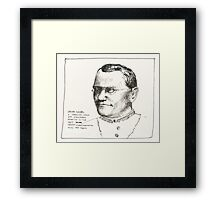 Gregor Mendel Framed Print