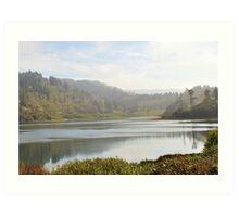 Calm Lagoon Art Print