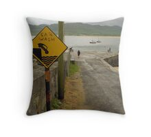 Car Wash in Ireland Throw Pillow