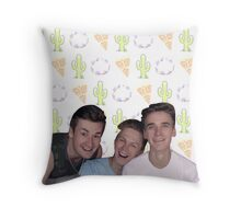 Jaspoli! Throw Pillow