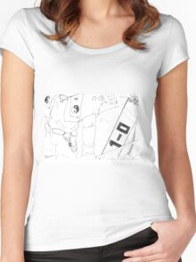 clip Women's Fitted Scoop T-Shirt