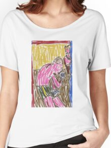 "Drawing: ""Francis Bacon Archive I (2010) (Boxing)"" by artcollect Women's Relaxed Fit T-Shirt"