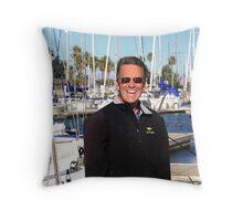 Portrait of a Sailor Throw Pillow