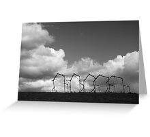 Rural sculpture Greeting Card