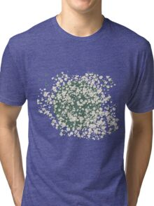 In a bed of daisies Tri-blend T-Shirt