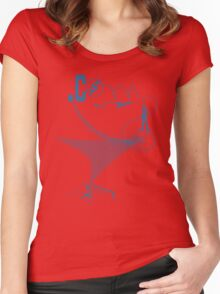 Dot Com Life Style Women's Fitted Scoop T-Shirt