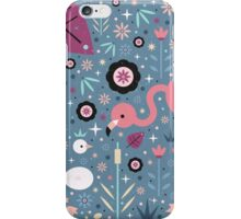 Flamingo & Chick  iPhone Case/Skin