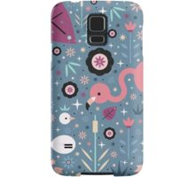 Flamingo & Chick  Samsung Galaxy Case/Skin