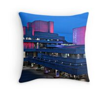 National Theatre by Anthony Stamp Throw Pillow