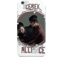 Scerek Alliance iPhone Case/Skin