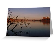 down by the water Greeting Card