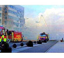 Firemen At Work......................................Derry Photographic Print