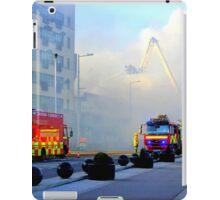 Firemen At Work......................................Derry iPad Case/Skin