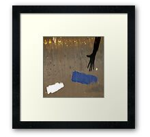 i can't touch the blue Framed Print