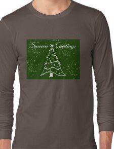 Green Christmas Long Sleeve T-Shirt
