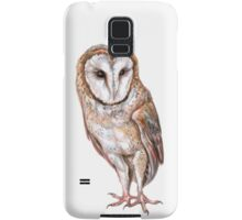 Barn owl drawing Samsung Galaxy Case/Skin
