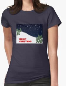 North Pole Womens Fitted T-Shirt
