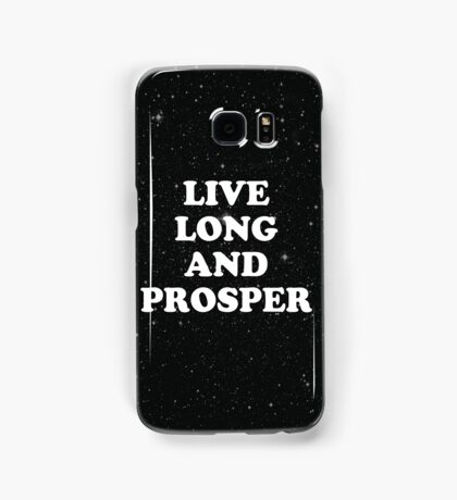 live long Samsung Galaxy Case/Skin