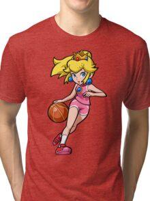 Princess Peach 3-on-3 Tri-blend T-Shirt