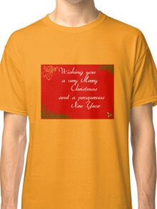 Red Holly Classic T-Shirt