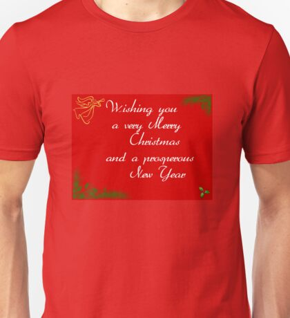 Red Holly Unisex T-Shirt