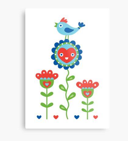 Happy - sweet print - multi Metal Print