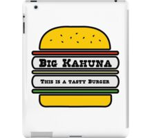 Big Kahuna Tasty Burger iPad Case/Skin