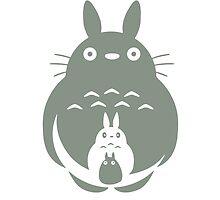 O-Totoro, Chu-Totoro, Chibi-Totoro by Ethan Bayton