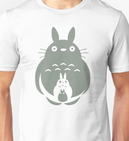 O-Totoro, Chu-Totoro, Chibi-Totoro Unisex T-Shirt