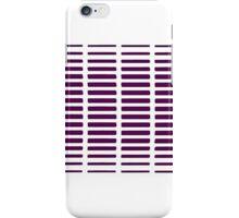 Purple Graph iPhone Case/Skin
