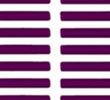 Purple Graph Sticker