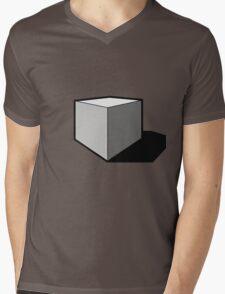 Perfect cube Mens V-Neck T-Shirt
