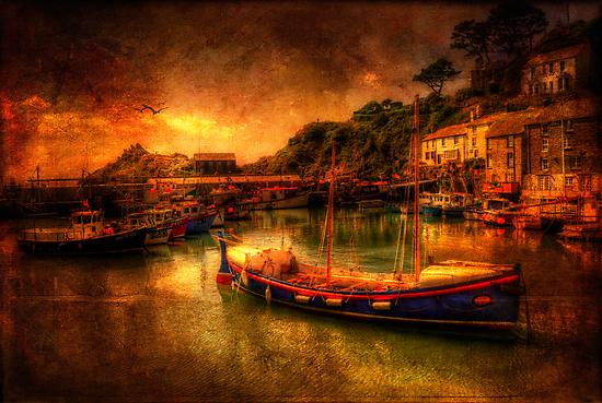 Polperro Harbour by ajgosling