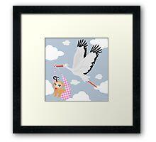 Air mail Framed Print