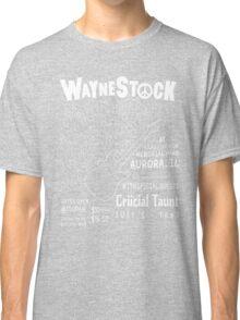 Waynestock (white) Classic T-Shirt